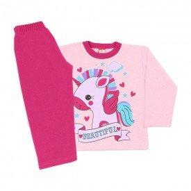 160 fem botone rosa kit