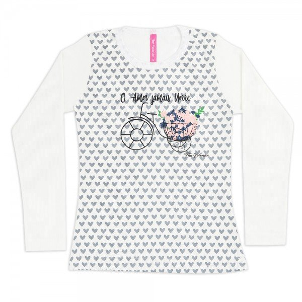 101 branco blusa