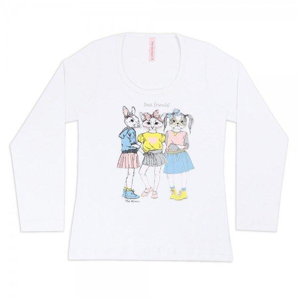 4201 branco blusa