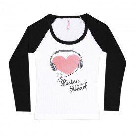 204 blusa branco preto