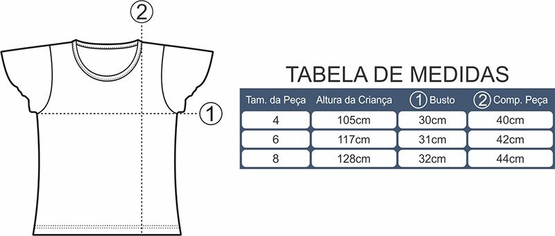 Tabela de Medidas