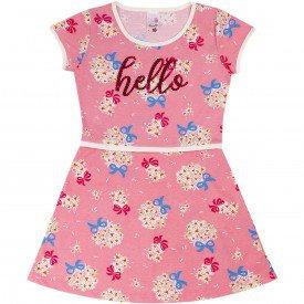 1044 vestido rosa claro