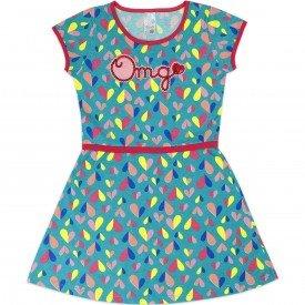 1044 vestido turquesa